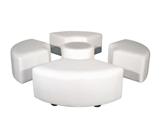 Incredible Round Set For 4 Short Links Chair Design For Home Short Linksinfo