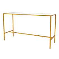 6ft bar table - Gold