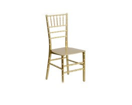 Chiavari chair - gold resin