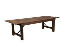 "9' x 40""  Farm table"