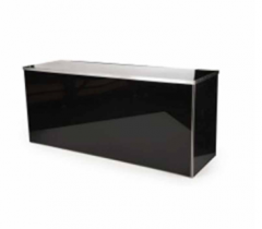 8ft Glossy Black Bar
