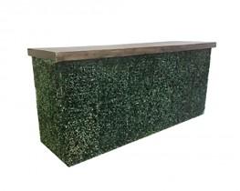 8 FT -Boxwood Bar