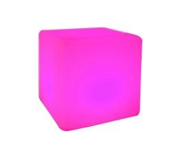 Illuminated cube