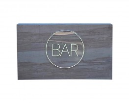 6f Natural color bar with neon sign