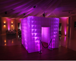 Inflatable booth - photo booth service not included