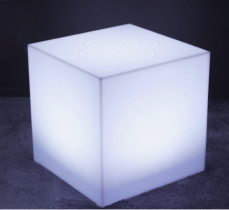 Led square coffe table