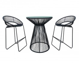 Acapulco Bar Table + Stool Set