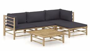 Bamboo Lounge set - 5 Piece