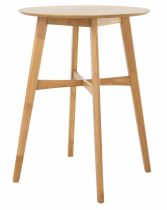 """30"""" Round Bar Table - Wood"""