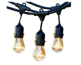 Patio string lights - 50 ft package