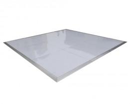 Glossy White Dance Floor - 16' x 16'