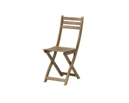 Wooded folding chair