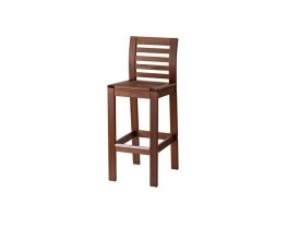 Wooded barstool